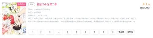 国漫崛起《我是江小白》第二季播放量破亿