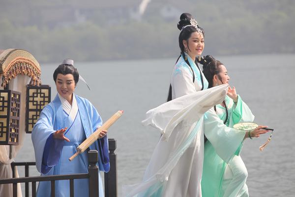 """""""金天使奖""""最佳戏曲片《白蛇之恋》献映京城"""