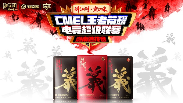 CMEL王者荣耀湖南省战队选拔赛火热招募中